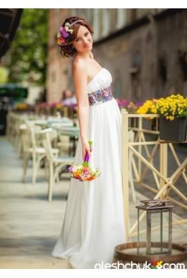 """Весільне плаття """"Симфонія літа"""""""