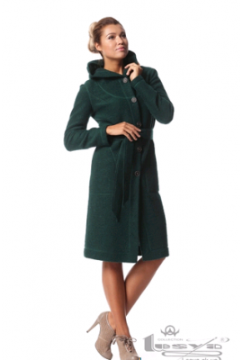 "Пальто ""Рижанка"" зелене"