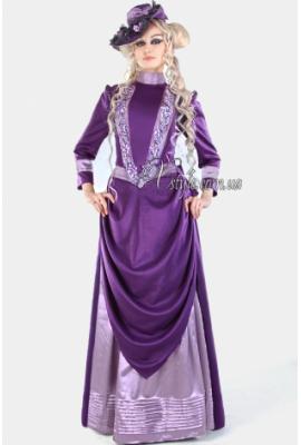 Вікторіанська сукня для прогулянок