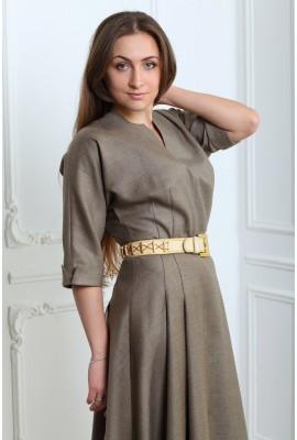 Сукня з суцільнокроєним рукавом напіввовна 1412-41