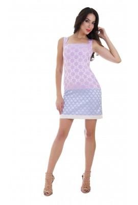 Сукня жакардова облягаюча 1405-020