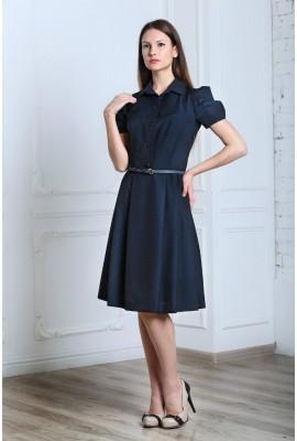 Сукня з фантазійними рукавами 1411-038-2