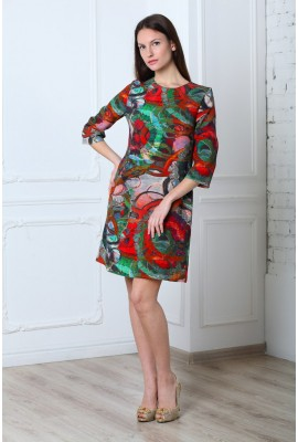 Сукня NELLA TESSUTI 1412-046-1 зелена