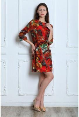 Сукня NELLA TESSUTI 046-2 червона