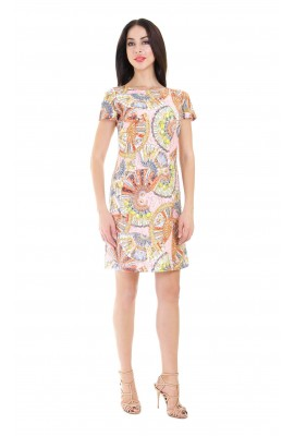 Сукня міні з гіпюру 1412-043-1