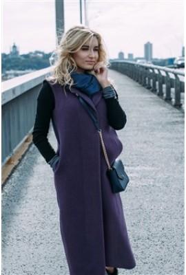 Пальто Carpe Diem фіолетове