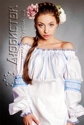 Вишита модна блуза ЖБ 86-55